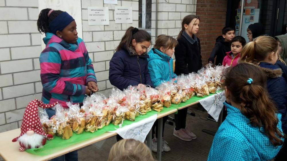 Weihnachtskekse 2019.Der Verkauf Der Weihnachtsplätzchen Hat Begonnen Don Bosco Schule